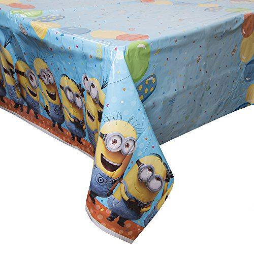 "Despicable Me Plastic Tablecloth, 84"" x 54"""