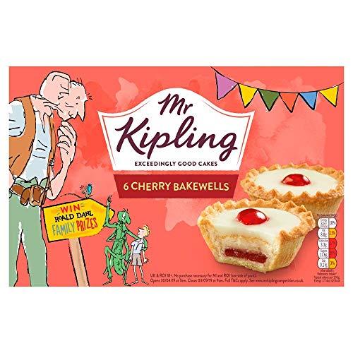 Mr Kipling Cherry Bakewells 6