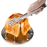 Tostadora al aire libre, Portátil Plegable Estufa de Campamento Tostadora Estufa de Campamento Estufa Tostadora, Cocina Desayuno Tostada Pan (B)