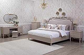 Pan Emirates Peachtree 5 Pieces Bedroom Set, Multicolor - 200x200 cm