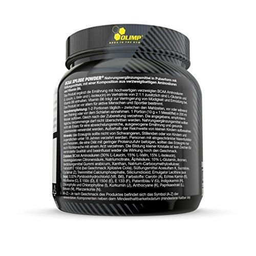 Olimp BCAA XPlode , Zitrone, 500 g - 2