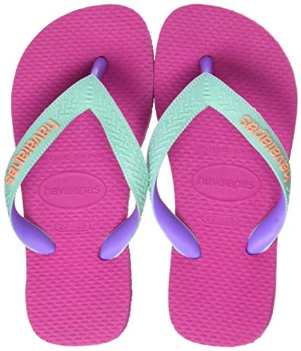 Havaianas Unisex-Kinder Top Mix Zehentrenner, Pink (Hollywood Rose 0064), 31/32 EU