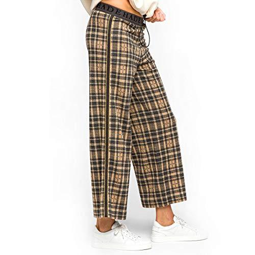 DEHA ABBIGLIAMENTO Pantalone Tuta Pantalone Donna Gold D33015 S