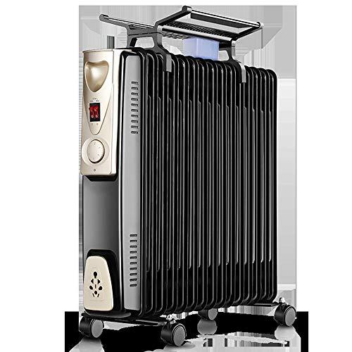 2000 W 15 fijn dunne olie gevuld radiator heater met thermische veiligheidsschakelaar instelbare temperatuur thermostaat 3 warmtestanden 15Fin