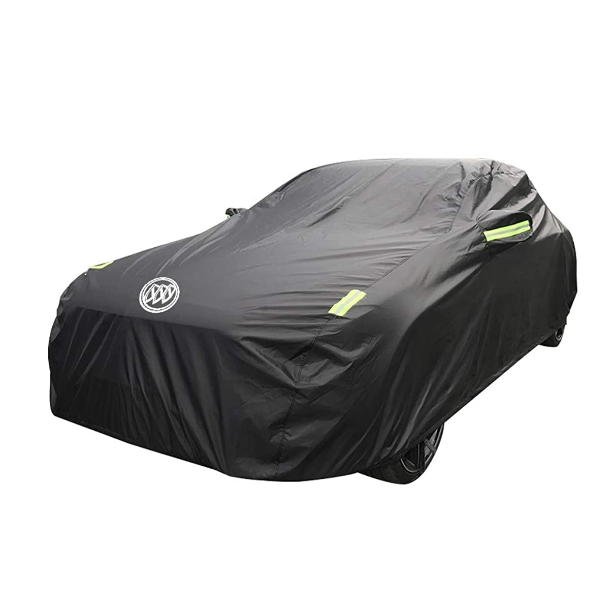 キャンプナビゲーション矢KTYXDE 車のカバー厚いオックスフォード布日焼け止めカバー 車のカバー (Size : 2017)