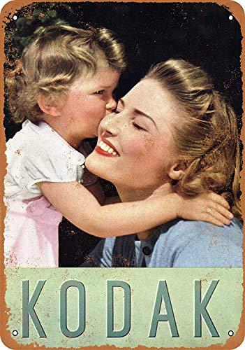 LAUGH WELL Kodak Cartel de Chapa metálica Cartel de Arte