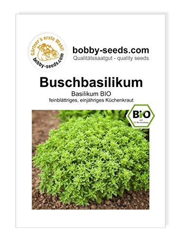 Buschbasilikum BIO-Kräutersamen von Bobby-Seeds, Portion