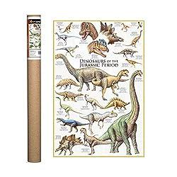 5. EuroGraphics Dinosaurs Jurassic Period Poster