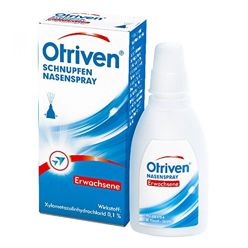 OTRIVEN 0,1% Spray f.Erw.u.Schulkinder 10 ml Nasenspray