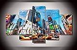 YFTNIPL 5 Leinwand Druck Kunst Poster New York City Natur