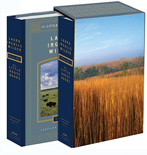 Laura Ingalls Wilder: The Little House Books: The Library of America Collection: (Two-volume boxed set)