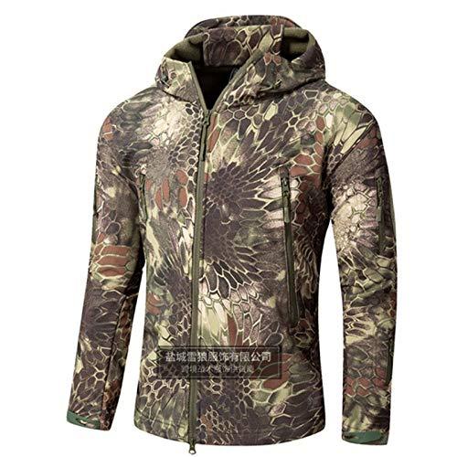 pas cher un bon Hommes Vestes Extérieur Chaud Imperméable Camouflage À Capuche Automne / Hiver Camp Veste Militaire