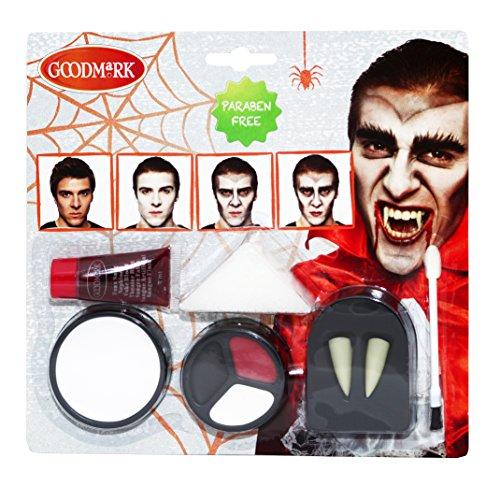 Goodmark Schmink Set Vampir, 2er Pack (2 x 5 Stück)
