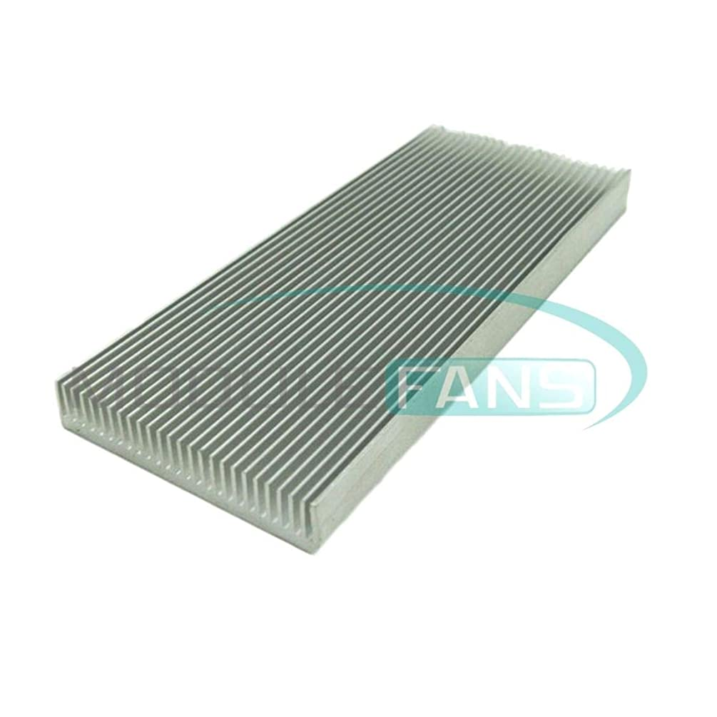 100x41x8mm Aluminum Heat Sink for Computer LED Power IC Transistor