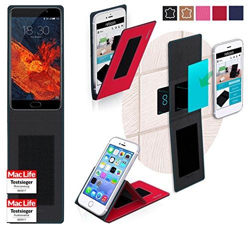 Hülle für Meizu Pro 6 Plus Tasche Cover Hülle Bumper   Rot   Testsieger