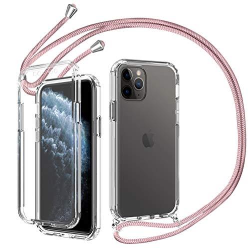 Fundas Iphone 11 Pro Max Transparente Con Cuerda Marca Ptny
