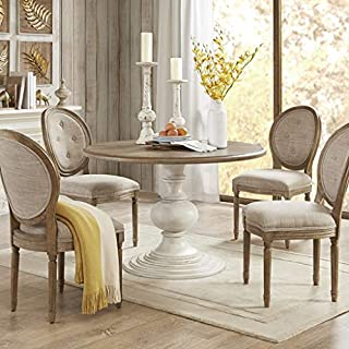 Lexi Dining Table Reclaimed Walnut/Antique Cream See Below (B07HRM5Y8F) | Amazon price tracker / tracking, Amazon price history charts, Amazon price watches, Amazon price drop alerts
