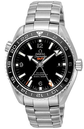 [オメガ] 腕時計 Seamaster Planet Ocean ブラック文字盤 コーアクシャル自動巻き 600m防水 232.30.44.22.01.001 メンズ 並行輸入品 シルバー