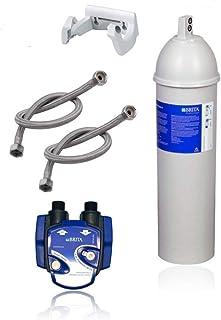 BRITA Filtre à eau sous évier Purity C 500 Quell ST, tête de filtre, tuyau flexible, support mural, adaptateur de valve d'...