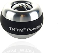 TKTM Upgraded Version Powball - Wrist Power Gyroscopic Ball - Wrist Strengthener and Forearm Exerciser for Stronger Arm Fingers Wrist Bones and Muscle