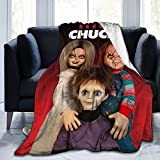Seed of Chucky Throw Blanket Ultra-Soft Micro Fleece Blanket Warm Lightweight Bed Chair Couch Travel Blanket 50'x40'