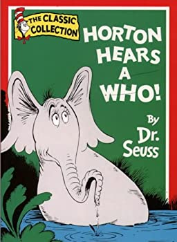 Paperback Horton Hears a Who (Dr.Seuss Classic Collection) Book