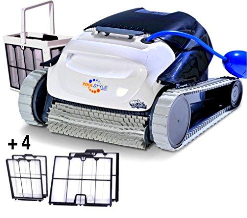 Maytronics Dolphin PoolStyle AG Plus ULTRACLEAN Digital - Robot Elettrico Pulitore per Piscina Fino a 10 Mt - Fondo + PARETI - Esclusiva Italia - MY2021