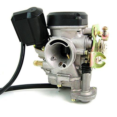 Carburateur de rechange 16 mm pour Baotian BT49QT-9 Sprint, BT49QT-12D Hero, BT49QT-12P1 Tiger, BT49QT-12E Rocky (4temps)