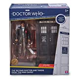 Doctor Who 2nd Dr & Tardis Set – Figura de acción clásica y juego de tardis Merchandising – Opciones de personaje – 5.5 pulgadas