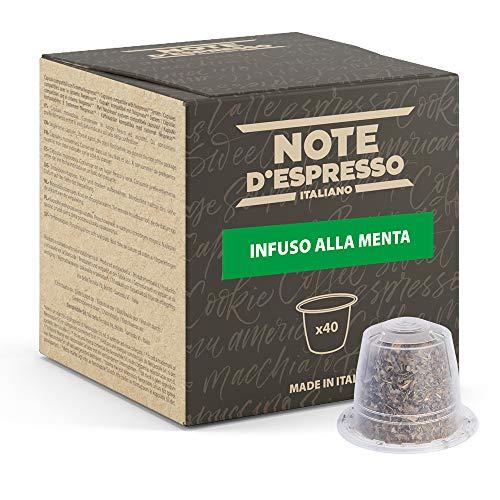 Note d'Espresso Italiano - Cápsulas De Menta Poleo, compati