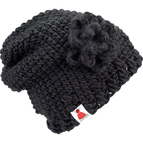 BlackLady schwarz Sionyx Mütze in Handarbeit