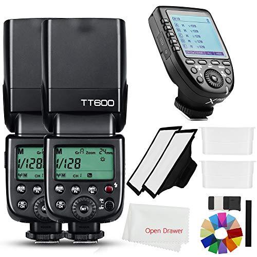 Godox 2X TT600 2.4G HSS Wireless...