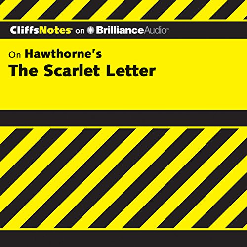 The Scarlet Letter: CliffsNotes audiobook cover art