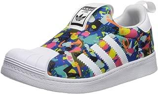 Kid's Superstar 360 Sneaker, White/White/Core Black, 2