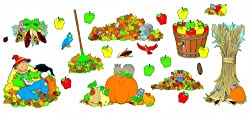 Scholastic Pumpkin Patch Accent Punch-Outs