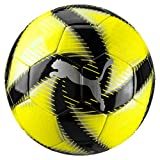 PUMA Future Flare Ball Balón de Fútbol, Adultos Unisex, Yellow Alert Black White, 3