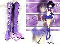 コスプレ靴♪美少女戦士セーラームーン♪セーラーサターン(土萌 ほたる) コスプレ用ブーツ コスチューム