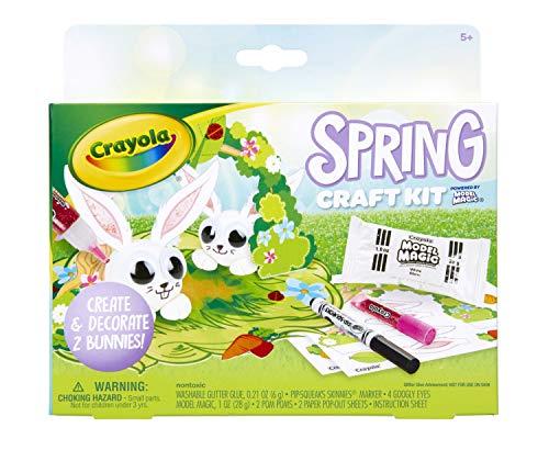 Crayola Model Magic Spring Craft Kit, Chick, Easter Basket Stuffer, Gift for Kids