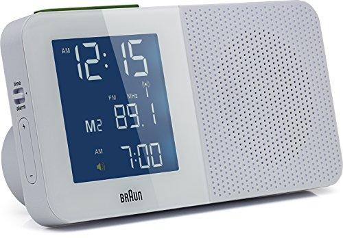 Braun - Digitaler Radiowecker BNC010, weiß