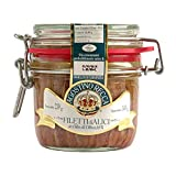 Agostino Recca Anchovies Fillets in Olive Oil - Wild Caught Fish from Italy - Anchovy Fillets for Pizza, Pasta, Salads (8.1 oz)