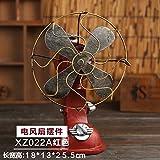 LAOZHOU-Creative Home muebles antiguos de estilo europeo de ventiladores eléctricos decoración salón TV armario,Red de artesanía