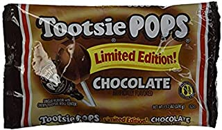Tootsie Pops Limited Edition Chocolate Pops 13.2 oz (Pack of 4)