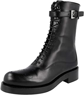 Prada Women's 1U053G Full Brogue Leather Half-Boot
