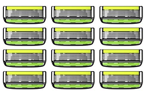 Rasoir Professionnel Dorco Pace 6 Plus Pour Homme – Technologie Six Lames Avec Trimmer & Bande De Gel Pour Un Rasage Ultra-Précis Et Confortable – Barbe Et Corps (12 lames)