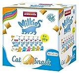 animonda Milkies Selection Mixpack, getreidefreie Knusperkissen für Katzen, Katzensnack, Multipack 6 x 30 g