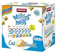 animonda Milkies, crunchy grain-free snacks for cats, cat treat, selection, 12 x 30g