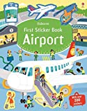 First Sticker Book Airports (First Sticker Books)