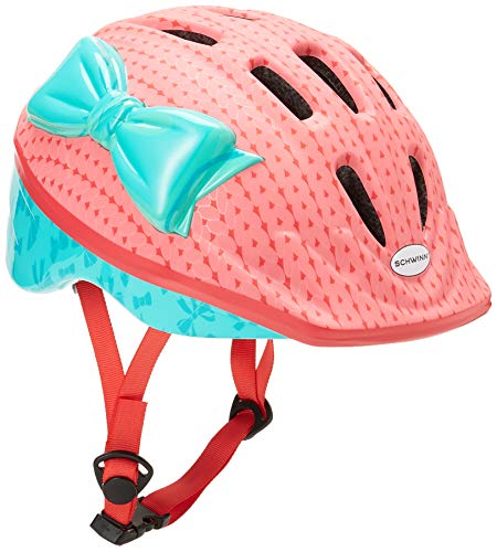Schwinn Kids Bike Helmet with 3D Character Features, Infant and Toddler Sizes, Toddler, Sweetheart