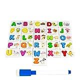 Topker Kinder-Alphabet Letter Learning-Karten-Satz 26
