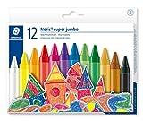 Staedtler 226 NC12 - Lápices plásticos y de cera, multicolor (Pack de 12)...